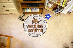 FANMATS Texas State Soccer Ball