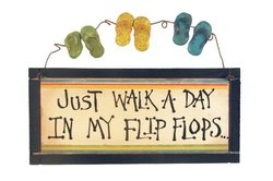 Ohio Wholesale In my Flip Flops Designed Wall Sign