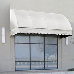 "Awntech? 3' Savannah? Window/Entry Awning, 44"" x 36"", Natural White"