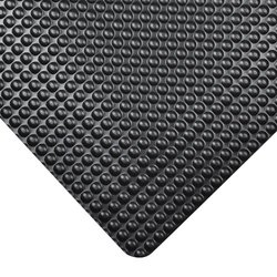 "NoTrax Bubble Trax Vinyl Anti-Fatigue Mat, 60"" x 36"", Black"