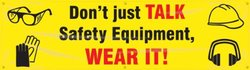 "Accuform Signs Motivational Safety Banner - 28""x8"""