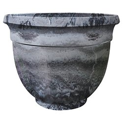 Griffith Creek Designs Round Pot Planter - Grey
