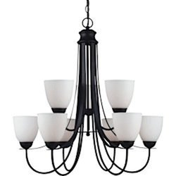 Uptown 9-Light Blacksmith Chandelier