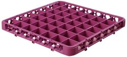 Carlisle  (RE49C89) 49 Compartment Extender Rack - Lavender [Set of 6]