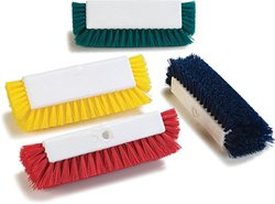 Carlisle Hand & Nail Brush Case of 72 - Off-White Polypropylene Bristles