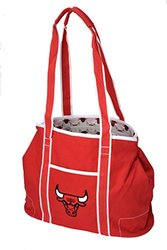 Northwest NBA Chicago Bulls Hampton Tote Bag - Red - Size: 12