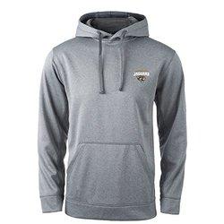 NFL Jacksonville Jaguars Champion Tech Fleece Hoodie - Heather Grey - Size: L