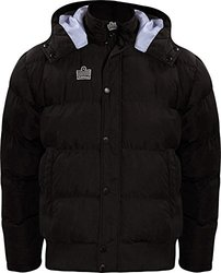 Admiral Parka Soccer Sideline Winter Jacket, Black, Youth Large
