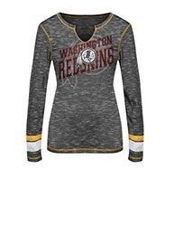 VF LSG Women's NFL Long Sleeve Split Crew Neck Tee - Multi - Size: S