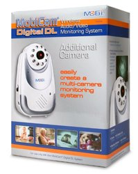 Mobi Mobicam DL Digital Wireless Additional Camera for Baby Monitor- 70056