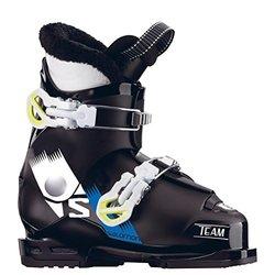 Salomon Team T2 Kids Ski Boots - Black/White - Size: 5.5 US