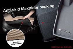 3D MAXpider Complete Set All Weather Floor Mat for Toyota Cruiser - Black