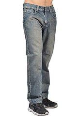 Foeyal Men's Jeans-3202-Stone Wash (36)