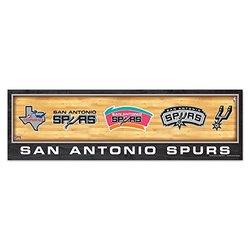 "Wincraft NBA San Antonio Spurs Evolution Wood Sign - 9""x30"""