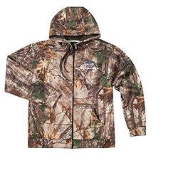 NFL Seattle Seahawks Adult Trophy Realtree Xtra Polyester Tech Fleece Full Zip Hoodie, Medium, Camo 989756
