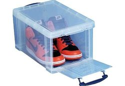 Really Useful Boxes 14-Litre Really Useful Storage Box - Clear