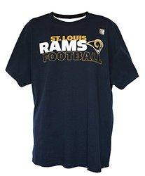 NFL Men's Wordmark Logo T-Shirt by G-III - St. Louis Rams - Size: Large