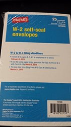 W-2 Self Seal Envelopes