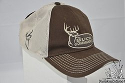 Buck Commander Men's Mesh Fitted Cap - Brown/Cream