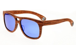Earth Wood Unisex Las UVB Protection Sunglasses