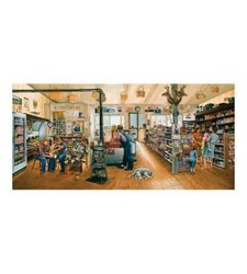 Sunsout 1000-Piece Gathering At The Store a Jigsaw Puzzle