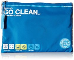 Flight 001 Go Clean Travel Gear Set - Blue - Size: One