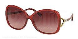 Michael Kors Sunglasses: Red Frame/MK2010B-30428H-60