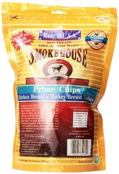 Smokehouse Natural Prime Chips Dog Treats - 16 Oz
