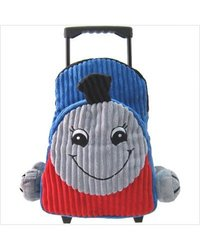 Kreative Kids Plush Train Rolling Backpack