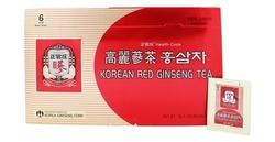 Korean Ginseng Korean Red Ginseng Tea - Pack of 100