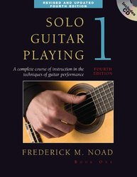 Solo Guitar Playing Book 1 - 4th Edition Book/CD By Noad