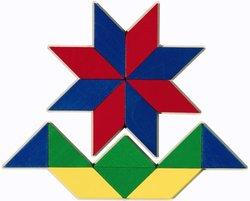 HABA Kids 66-Piece Pattern Mosaic Arranging Game