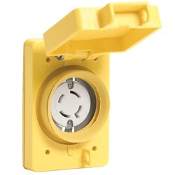 Woodhead 67W09 120/208V Watertite Wet Location Locking Blade Receptacle
