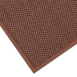 """Notrax 145 Preference Entrance Mat, for Inside Foyer Area and Main Entranceways, 3' Width x 10' Length x 5/16"""" Thickness, Brown"""