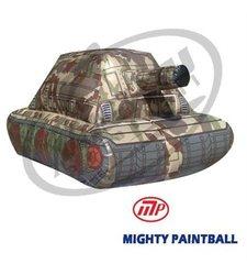 MP Mini Tank Shape Inflatable Air Bunker