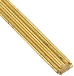 BG G41 Drawn Pinion Wire 14.5 Degree Pressure Angle - Brass