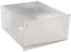"BUD Industries RM-14225 Aluminum Rackmount Chassis, 19"" Width x 10-1/2"" Height x 22"" Depth, Natural Finish"