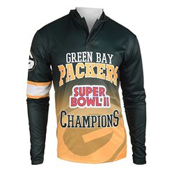 NFL Green Bay Packers Super Bowl II Champions Hoody Tee, Small