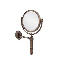 """Allied Brass 8"""" Venetian Bronze Extendable Wall Mirror"""