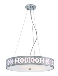 Trans Globe MDN-904 5 Light Olympic Rings Large Pendant