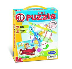 3D Puzzle 2-In-1 Airplane Puzzle