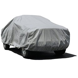 Budge Max Truck Cover Fits Truck with Long Bed Dually Crew Cab Pickups or SUVs up to 22 feet, TMX-8 - (Endura Plus, Gray)