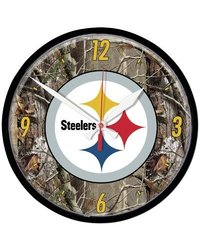 Wincraft NFL 12.75'' Camoflage Wall Clock; Pittsburgh Steelers multicolor
