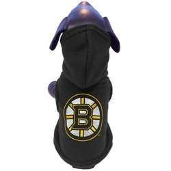 All Star Dogs Boston Bruins Fleece Pet Hoodie, X-Large