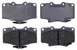 ACDelco 14D611C Advantage Ceramic Front Disc Brake Pad Set with Wear Sensor