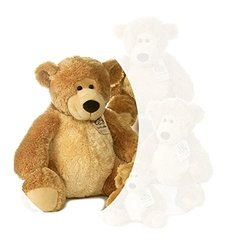 "Luve to Cuddle Tan Bear 20"" by Aurora"