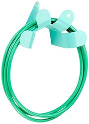 "Pearhut Commercial Grade Steel Metal Garden Flower Hose Holder/Hanger, 8"", Teal Green"