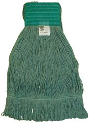 """Zephyr HC/Blend Loop Mop Head with 5"""" Mesh Wide Band (28263) - Pack of 12"""