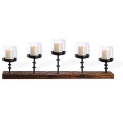 Foreside Mountain House 5-Pillar Candlestand