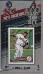 Topps MLB Arizona Diamondbacks Licensed 2011 Team Sets